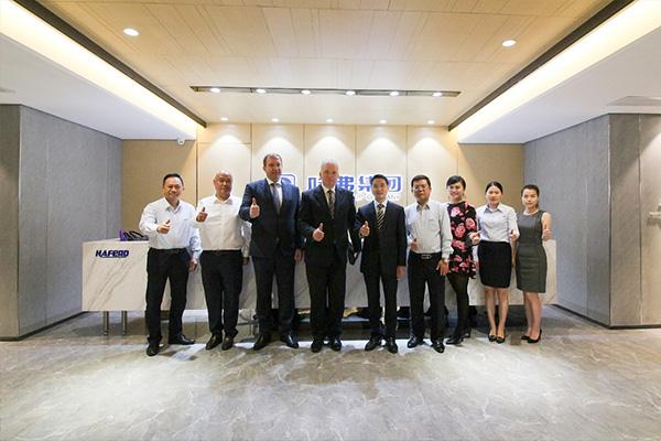 斯洛伐克共和国驻华大使一行来访哈弗集团——国际创新融合,共赢经济发展